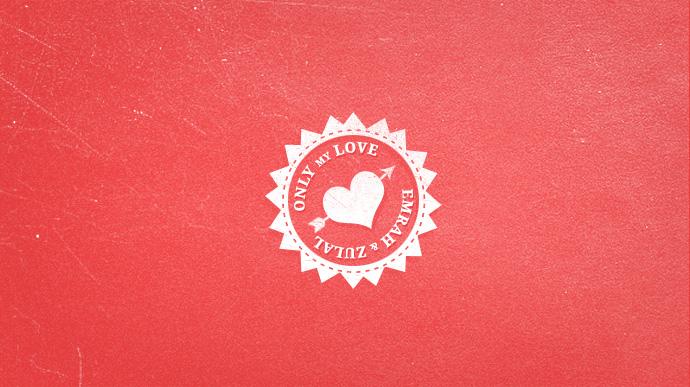 Red Valentine's Day Free PSD