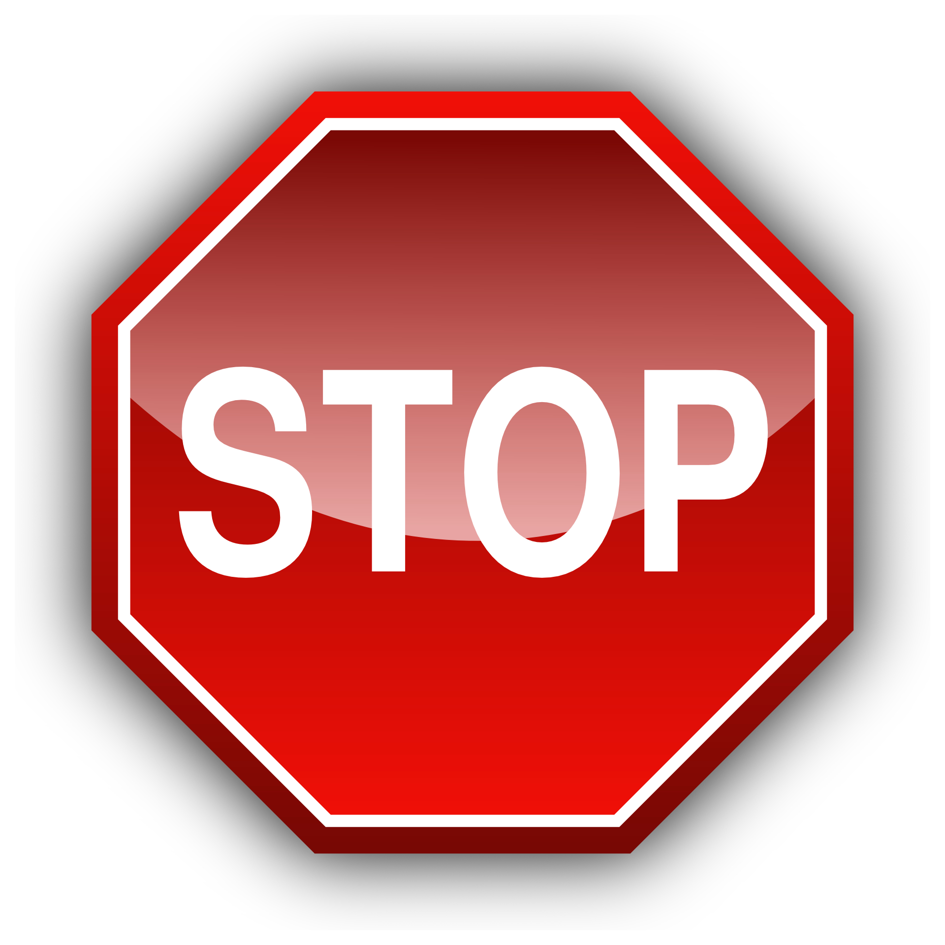 Red sign of stop,traffic vector