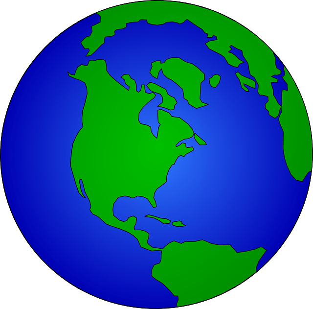 Simple earth vector