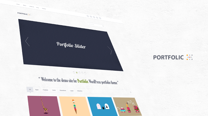 Wordpress Portfolio Theme Free PSD