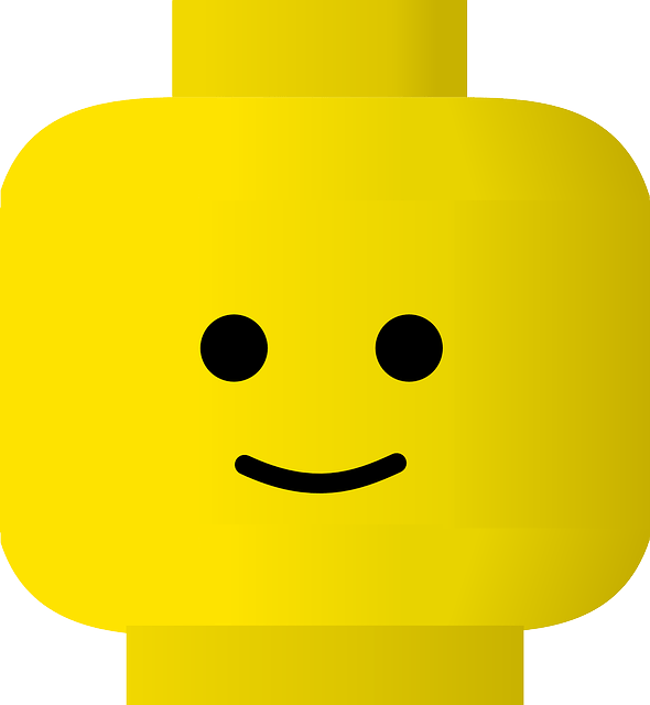 Yellow cartoon face
