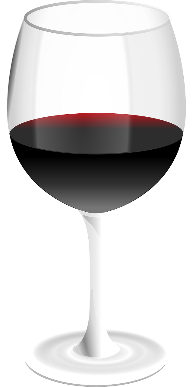 cartoon vector-wine glass