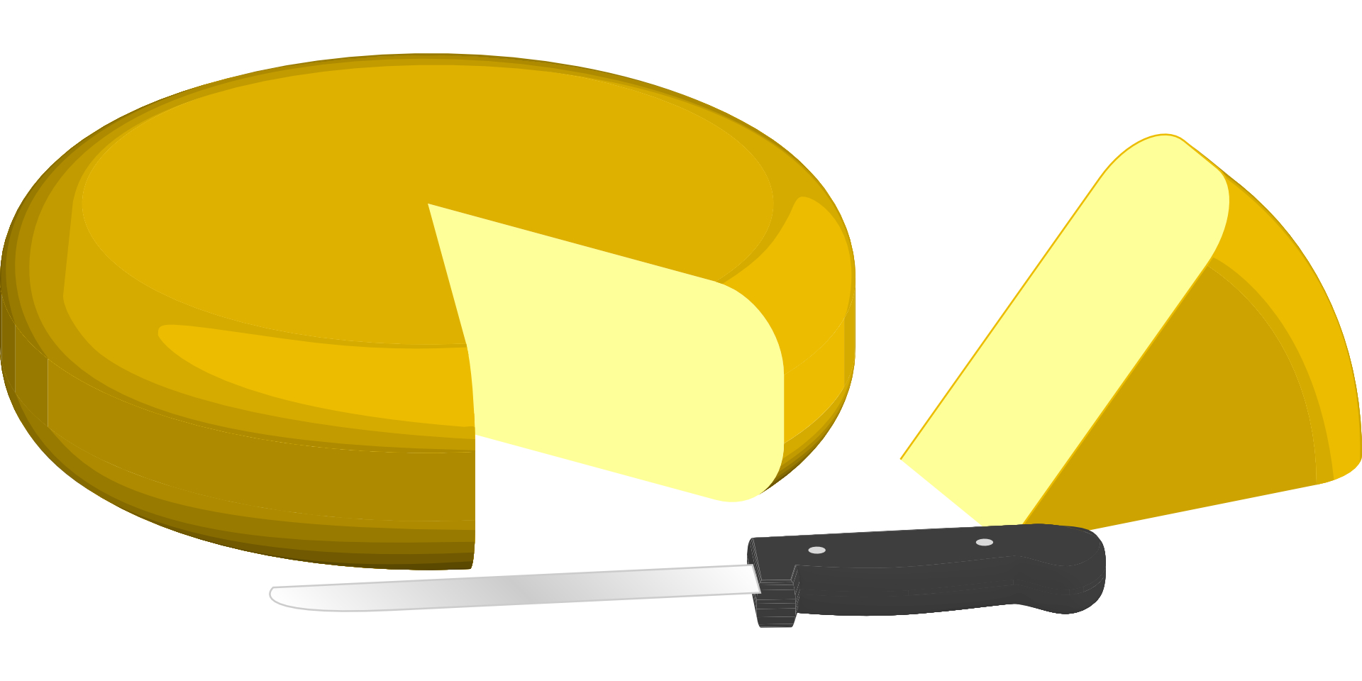 cheese knife vector
