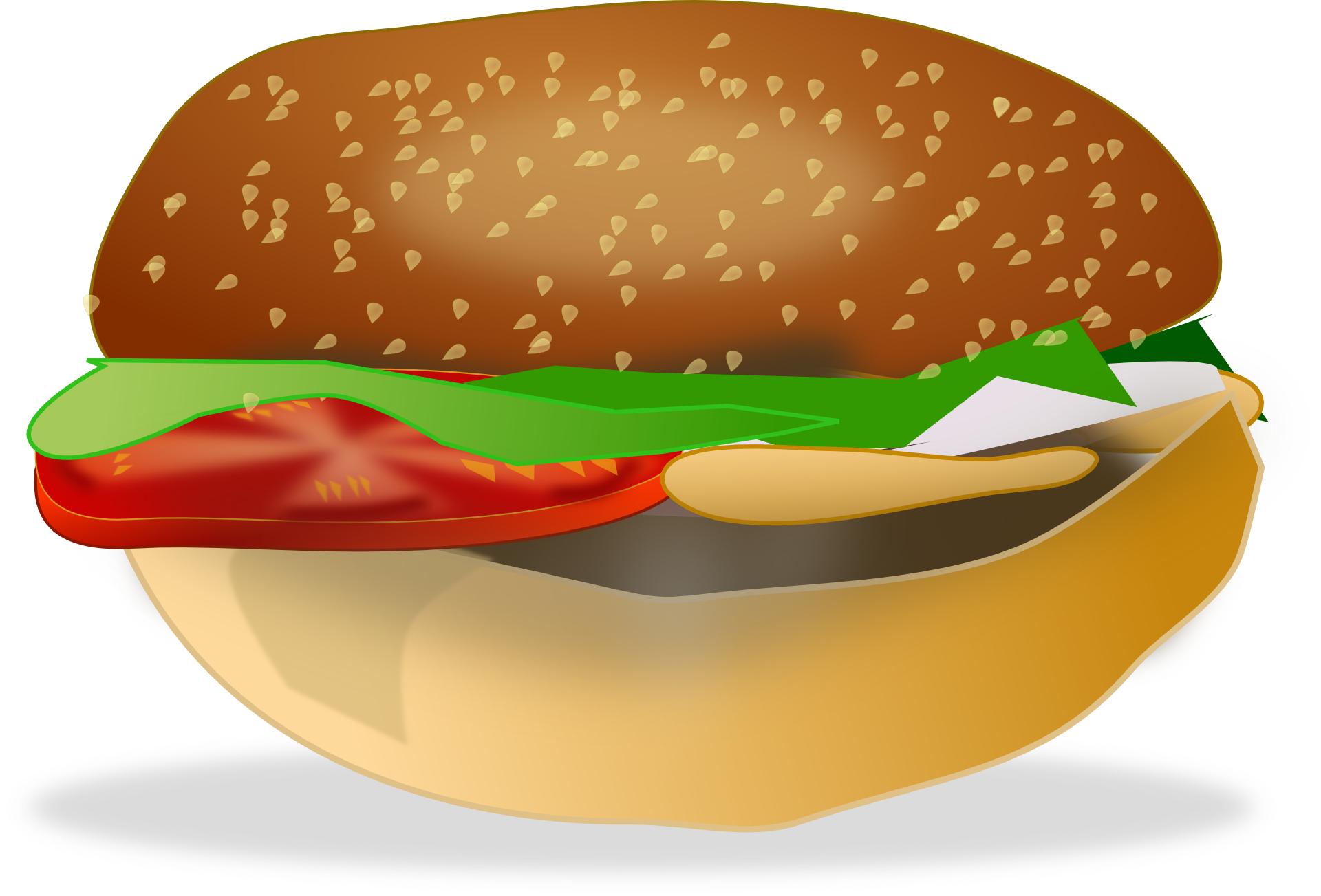 dainty,food,hambuger,bread vector