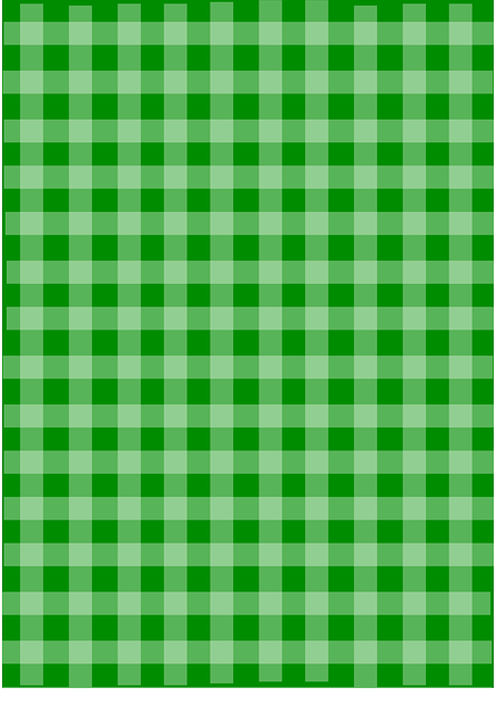 green plaid gingham vector