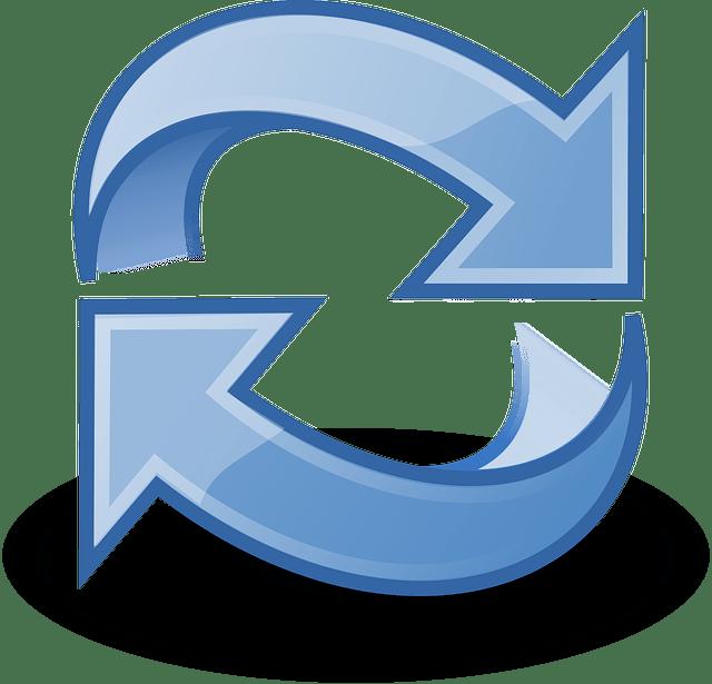 reload recyle refresh arrow vector