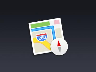 Cool Free OS X Maps PSD