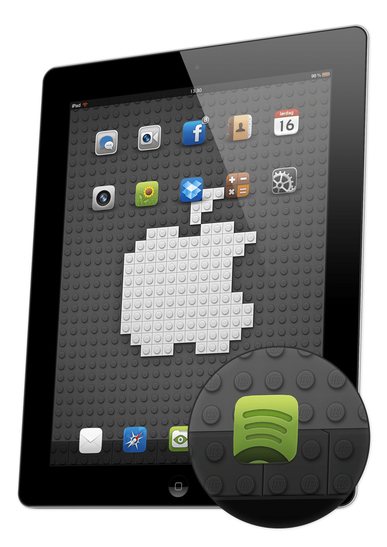 Free Lego Wallpaper Dock For IPad IPhone