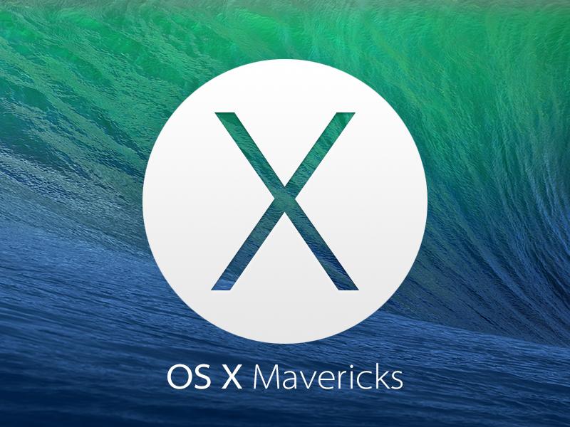 Free Mac OS X Mavericks Icon PSD