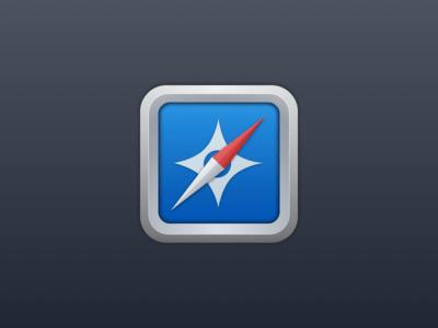 Free Safari Icon sketch file