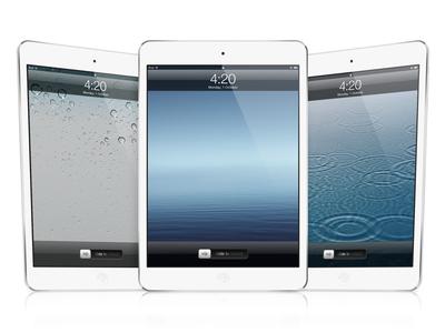 Scaleable iPad Mini Mockup PSD