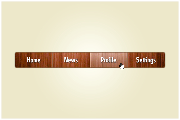 20 Wooden Website Header Menu PSD