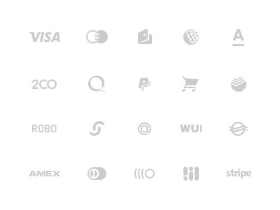 Free PSD-Payment icon Set