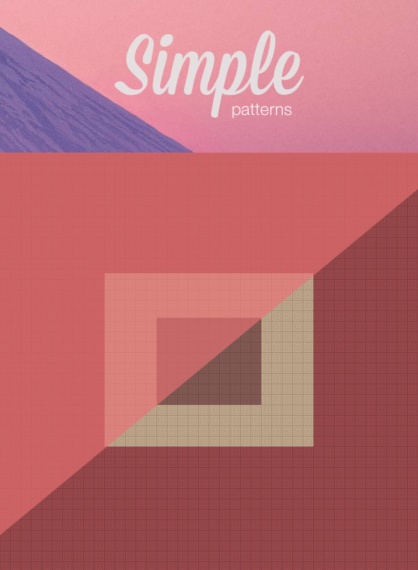 A small collection of beautiful photoshop patterns