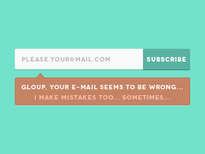 Clean Newsletter PSD