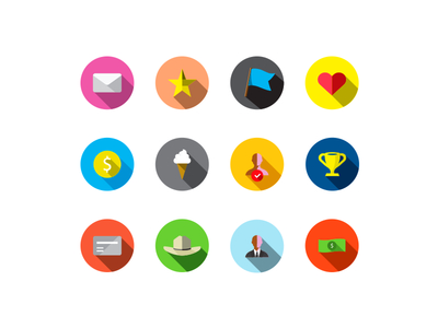Free Reward Icons Vector AI