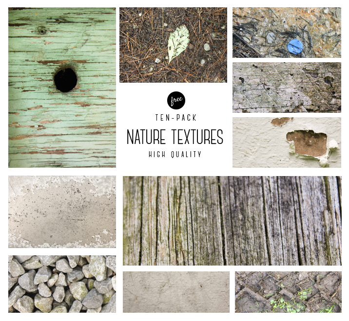 High-Quality Nature Textures Pack