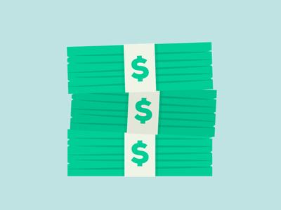 Stacks Of Money PSD