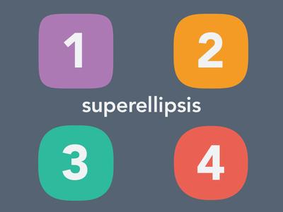 Super Ellipsis Vector PSD