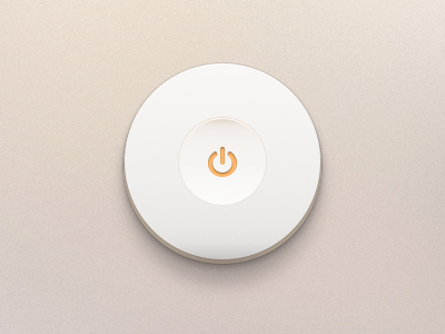 Switch Off Button PSD