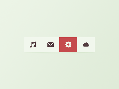 Toolbar psd file 3
