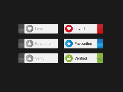 Vector Switch icons For Design