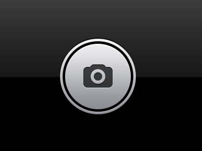 iOS Camera Capture Icon