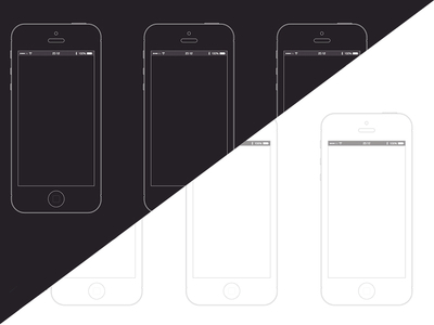 iPhone Wireframe Template (.sketch) Screenshot