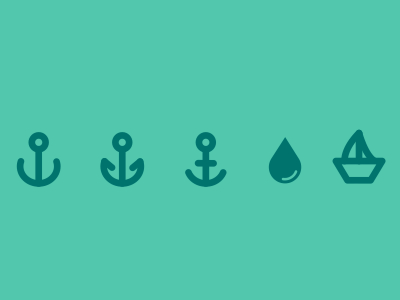 Free Ocean Icons Vector PSD