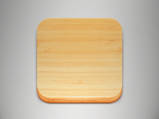 Free Wood Icon PSD Vol 1