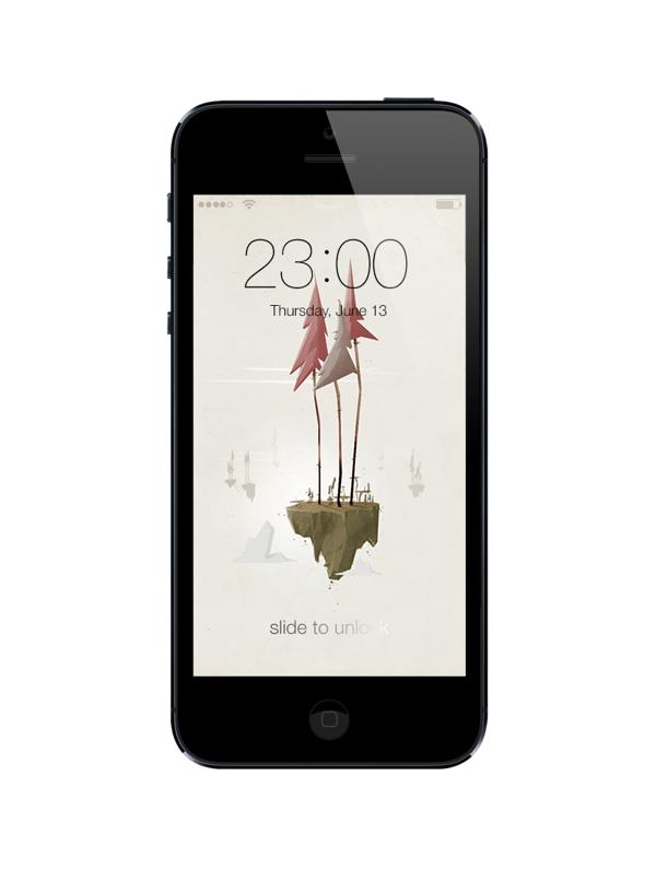 Free iOS iPhone Lockscreens - 4