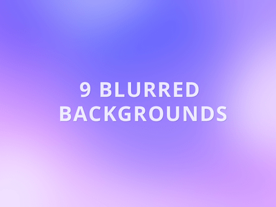 9 Free High Resolution Blurred Backgrounds Download