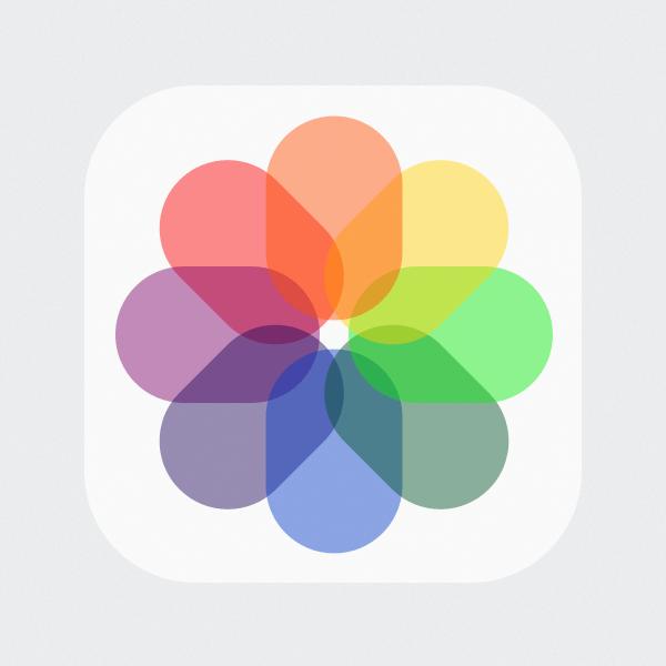 iOS7 iPhone Camera Roll / Photos PSD