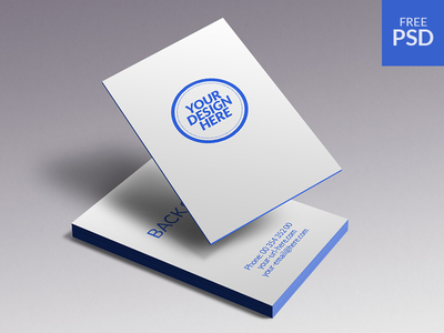 PSD Business Cards Mockup