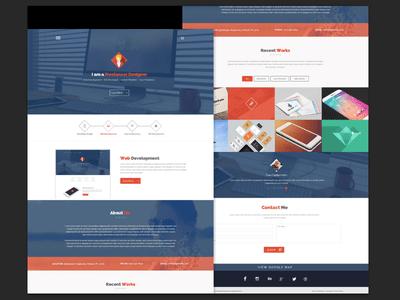 Portfolio Flatstyle Web Design