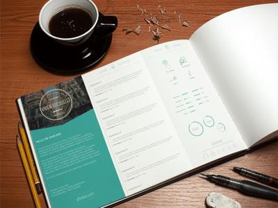 Free Resume Template PSD – vol.3