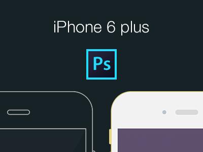 Free iPhone6 flat mockup