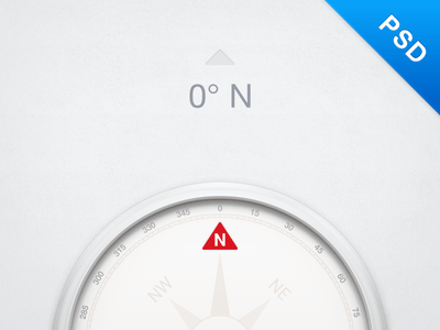 Compass Free PSD Download