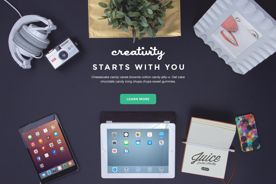 Creativity Bundle Freebie PSD