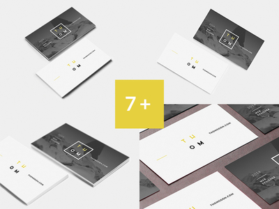 Free PSD Clean mockup Business Card