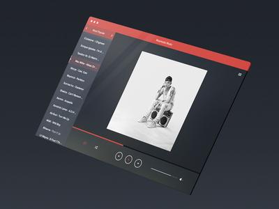 Music PSD – Media Player Template