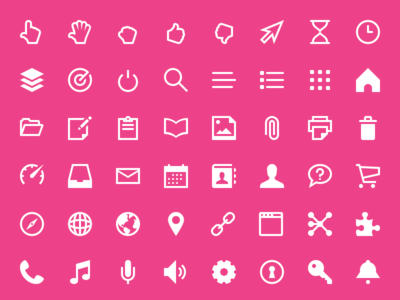 340 Freebies Touch Icon Set PSD