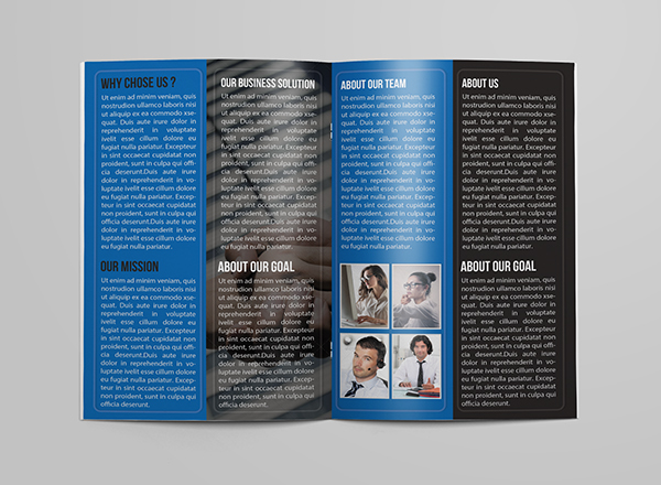 Corporate Bifold Business Brochure Template PSD FREE DOWNLOAD