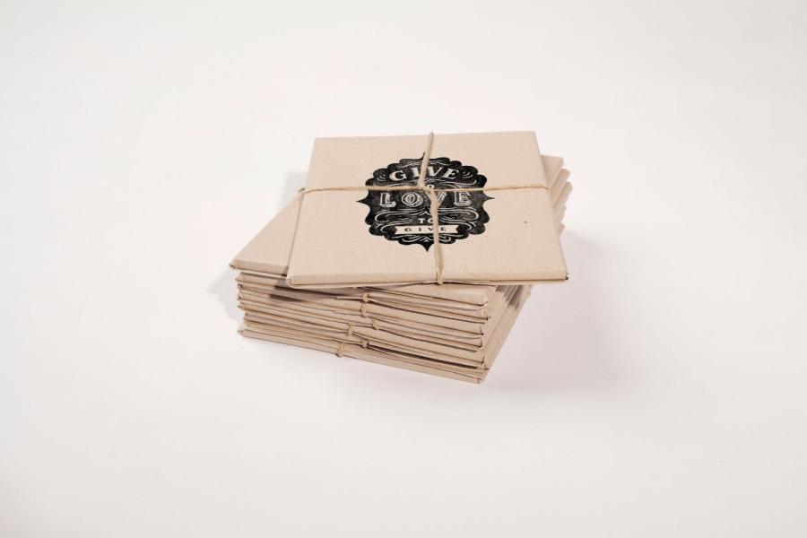 Envelope Packaging Mockup PSD Template Download