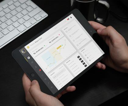 Free Ecommerce Admin Dashboard UI Design PSD