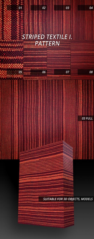 Free Striped Textile Pattern Download