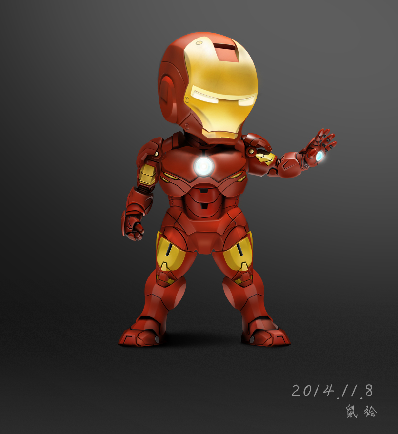 Iron Man PSD
