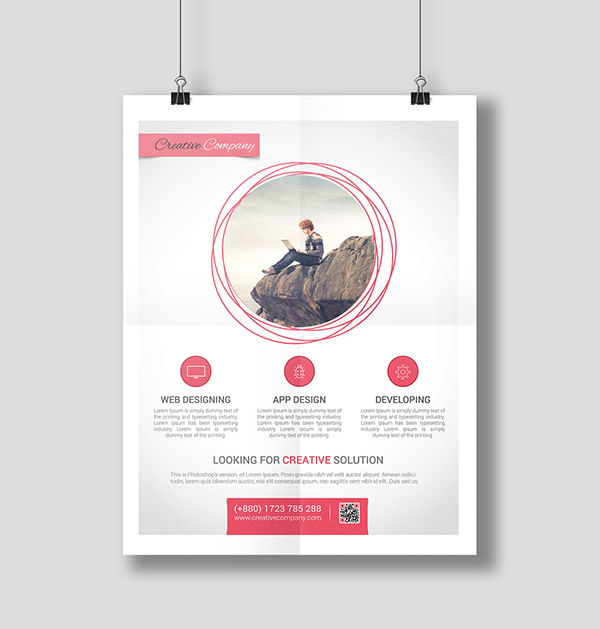 Modern Agency Flyer Poster ad Templates 4