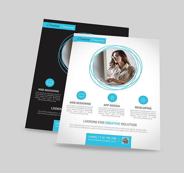 Modern Agency Flyer Poster ad Templates 7