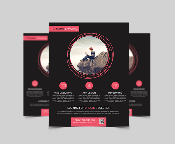 Modern Agency Flyer Poster ad Templates